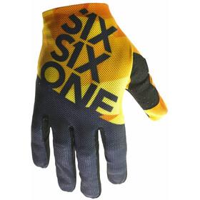SixSixOne Raji fietshandschoenen Heren oranje/zwart